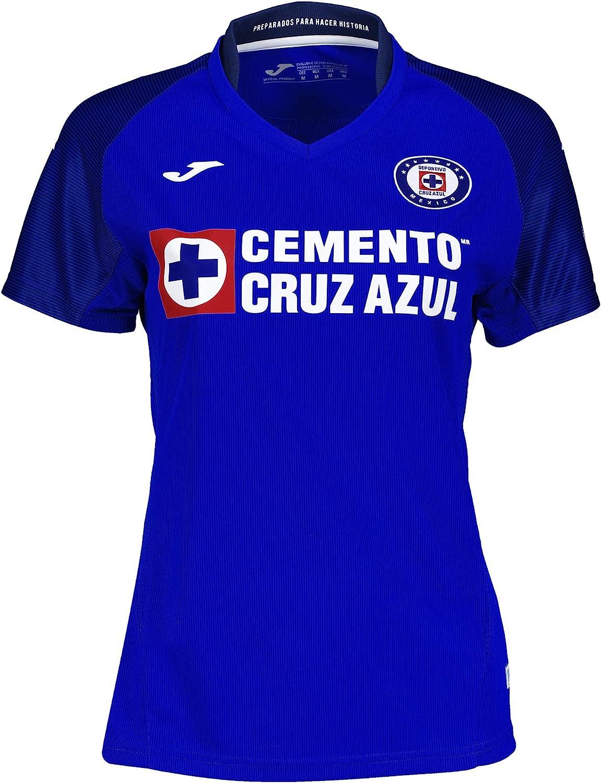 Cruz Azul 2019/2020 - Camiseta para mujer (talla mediana)