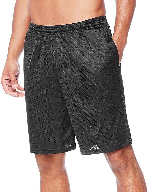 Details about  /Hanes Sport Men/'S Mesh Pocket Short