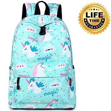 d12d813d6405 Kids Backpack Primary School Backpack Children Book Bag Student Cute School  Bag Girl School Backpack Kids Book Bag Printed Pattern Daypack  Amazon.in   Toys ...