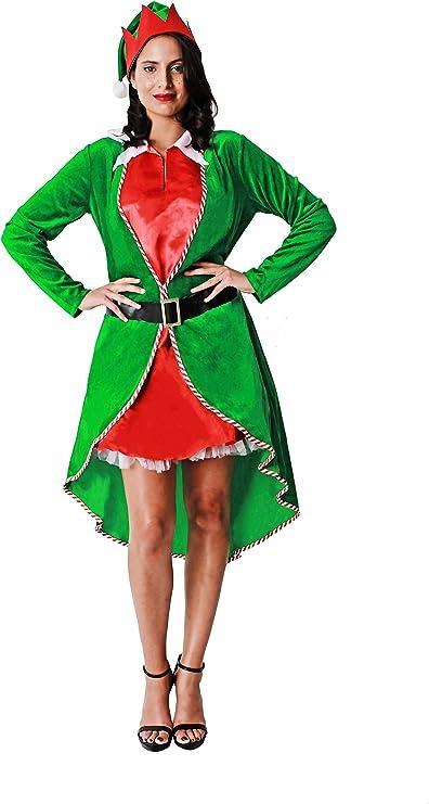 Costumizate! Disfraz de Elfa para Mujer Adulta Talla Unica ...