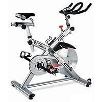 BH Fitness SB3 H919N Indoorbike,  Indoorcycling,  SPD-Trekking-Pedale, Lenkerabdeckung
