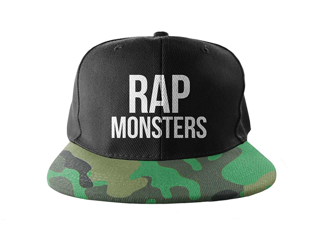 Rap Monsters Camuflaje Cool Swag Hip Hop impresión Snapback ...