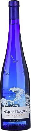 Adecuado para tomar con todo tipo de marisco y pescado blanco,Graduación de 12.5º,Botella de 750 ml,