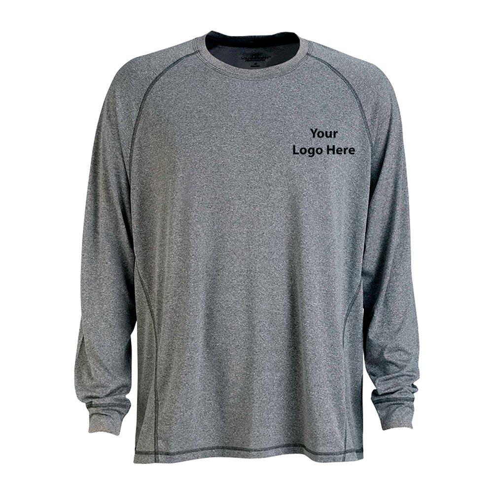 Long Sleeve Melange Tech Tee - 48 Quantity - $34.10 Each - BRANDED/CUSTOMIZED