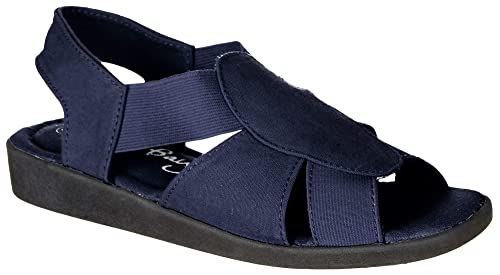 462cd36b0 Image Unavailable. Image not available for. Color  Coral Bay Womens Maggie  Memory Foam Sandals ...