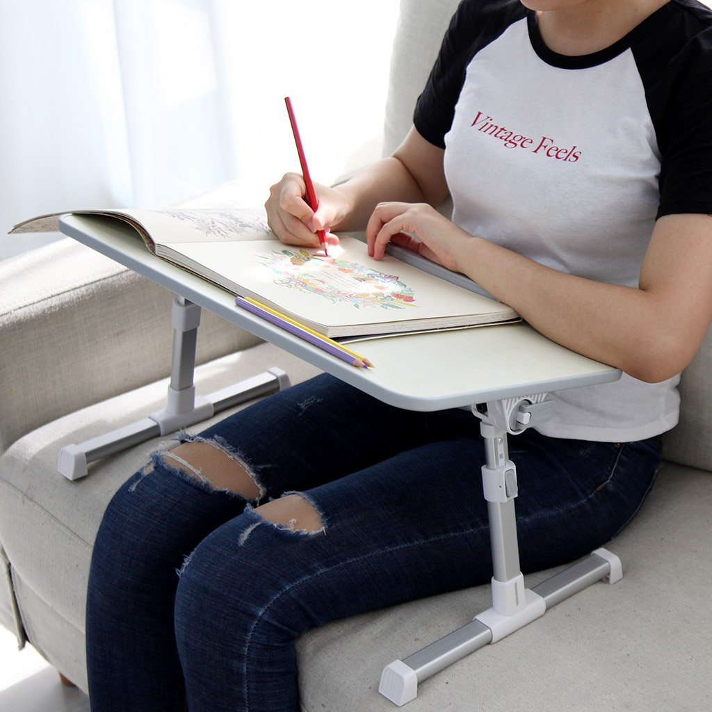 Avantree Adjustable Laptop Table Portable Standing Bed