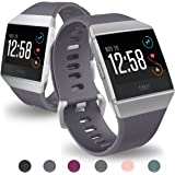 Hanlesi Fitbit Ionic Band 2017 , Soft Silicone TPE Adjustable New Fashion Sport Strap for Fit bit Ionic Replacement Fitness Accessory Original Watch Wrist-band for Girl and Boy