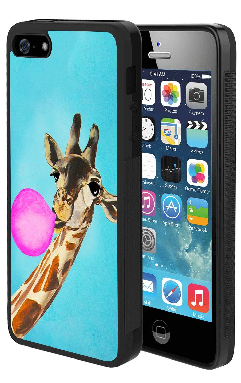 Amazon Com Iphone Se 5s 5 Case Giraffe Balloon Case For
