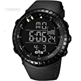 OTS Unisex Outdoor Waterproof LED Digital Sports Watch