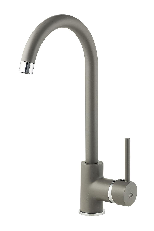 /Miscelatore monocomando per rubinetto rubinetto da cucina Milin rosso Beu r62/m Deante/