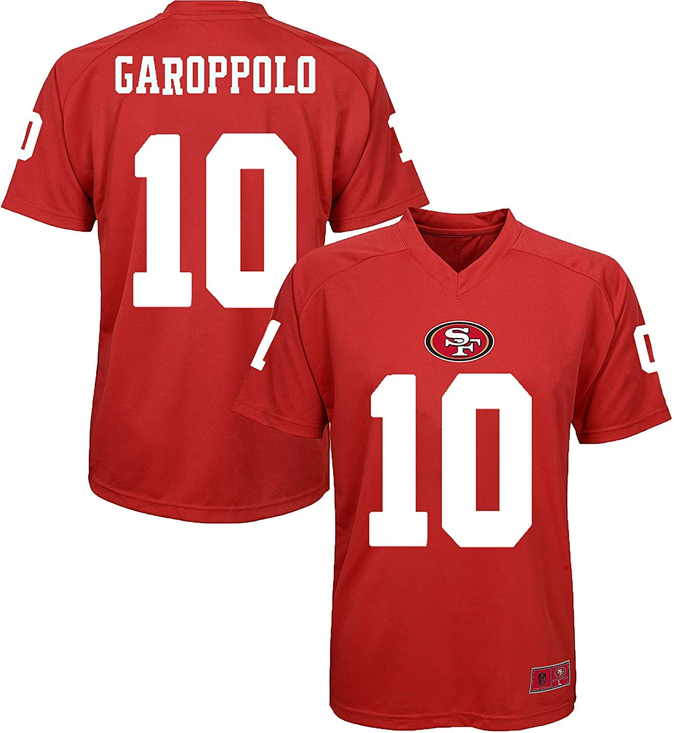 buy online 09e58 39cca Amazon.com : Outerstuff Jimmy Garoppolo San Francisco 49ers ...