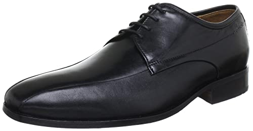 Clarks Men's Dexie Over Leather Formals and Lace-Up Flats Men's Formal Shoes at amazon