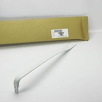 PS330447   NEW OEM FACTORY ORIGINAL WHIRLPOOL WHITE REFRIGERATOR DOOR HANDLE