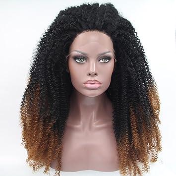 Pelucas sintéticas trenzadas encaje frontal pelucas afro americano trenzas pelucas para mujeres negras