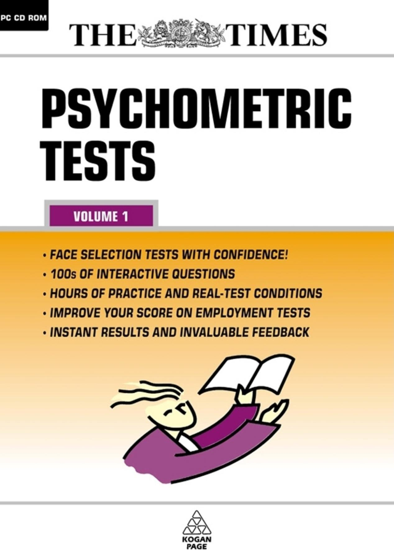 Psychometric Tests  'The Times' Testing Series