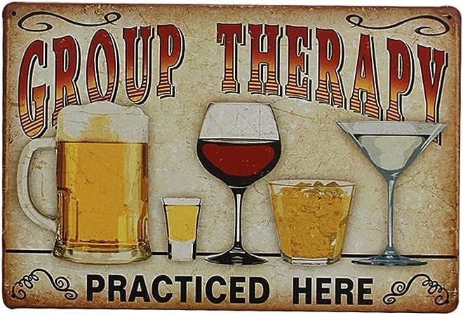 Vintage Metall Blechschild Plaque Wandkunst Plakat Blatt Café Bar Pub Bier 01