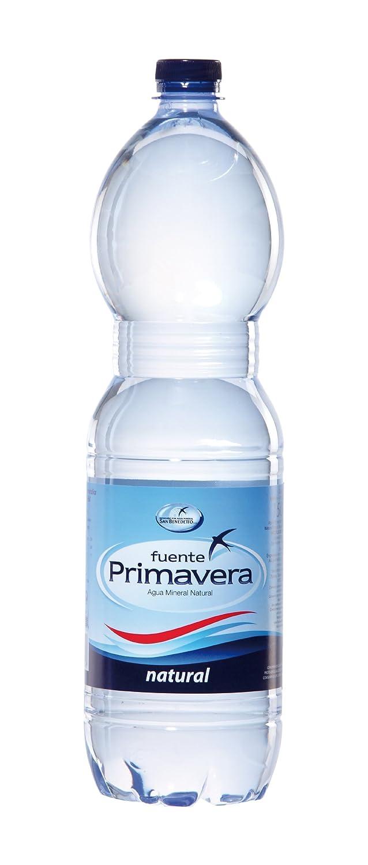 Agua fuente primavera 1, 5l natural blue: Amazon.es: Alimentación y bebidas