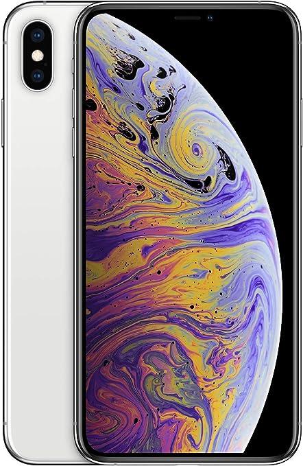 Apple Iphone Xs Max 256gb Silver Unlocked Amazon Co Uk Electronics