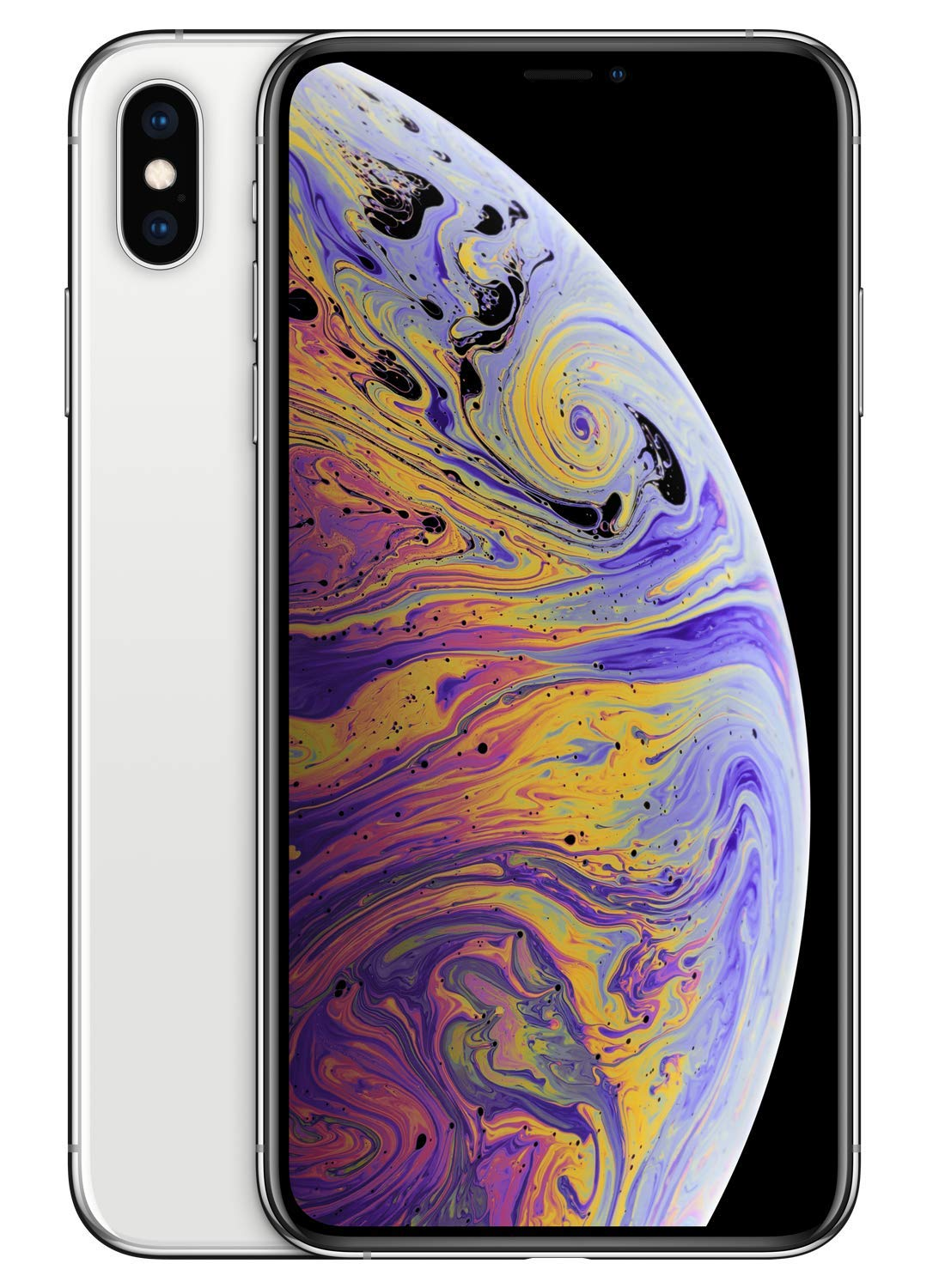 Amazon com apple iphone xs max 64gb silver works exclusively with simple mobile