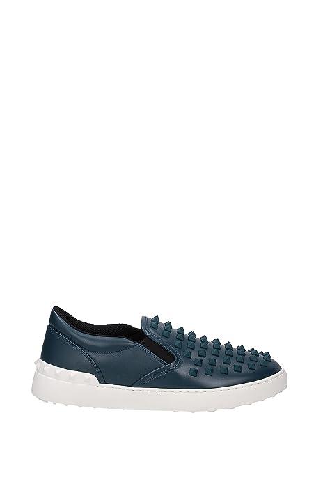 Zapatillas sin Cordones Valentino Garavani Hombre - Piel (2S0817VDR) EU: Amazon.es: Zapatos y complementos