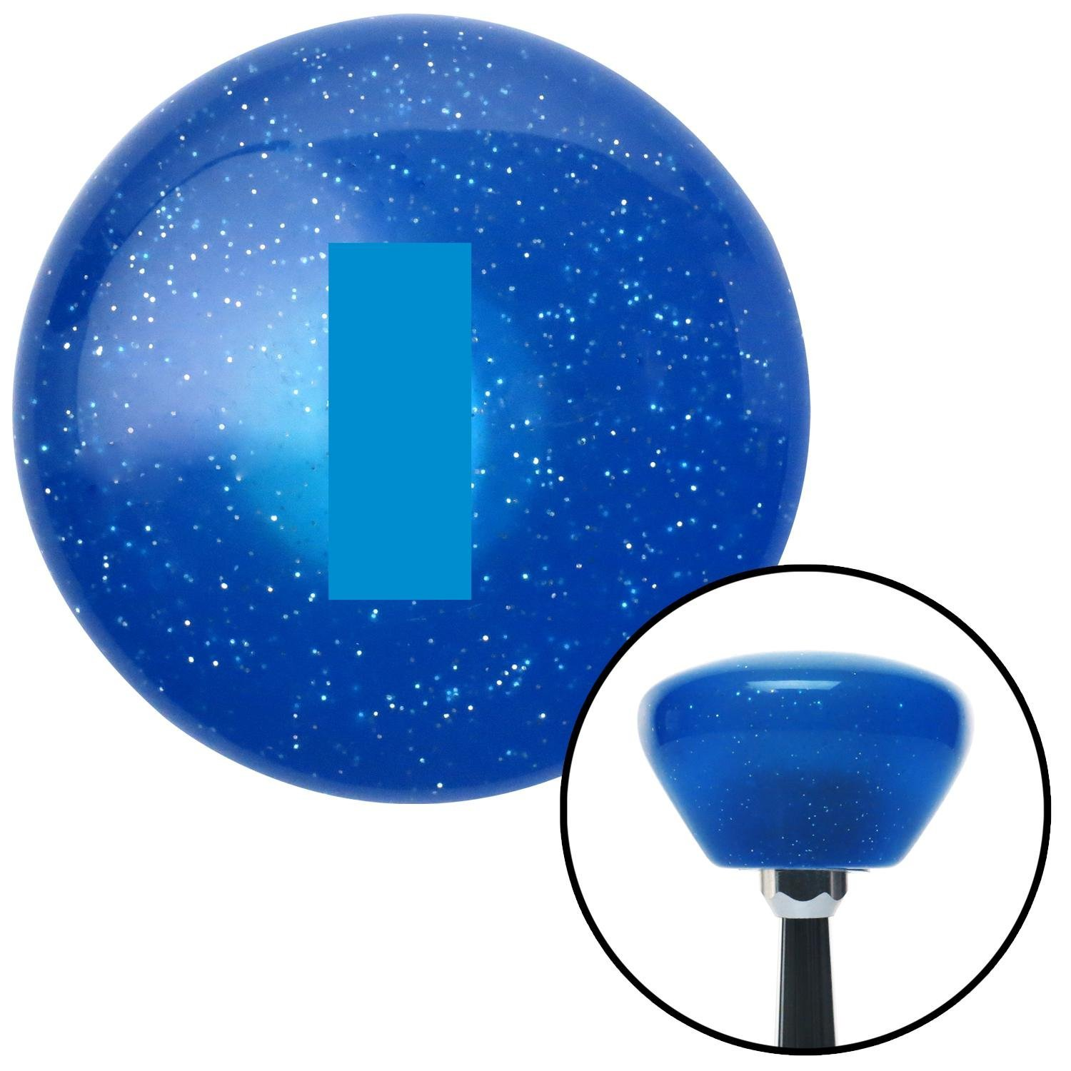 Blue First Lieutenant /& Second Lieutenant American Shifter 190318 Blue Retro Metal Flake Shift Knob with M16 x 1.5 Insert