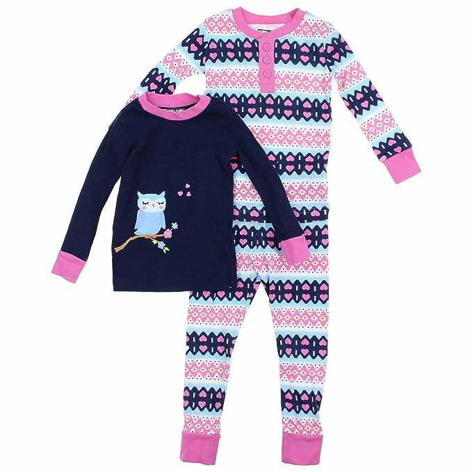 Kirkland Signature Girls Mix and Match 3 Piece Organic Cotton Pajama Set   Amazon.ca  Clothing   Accessories 62f4ff787
