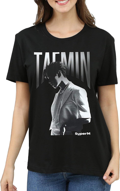 Dolpind Kpop SuperM Shirt Baekhyun Taemin Taeyong Mark Lucas Kai Ten T-Shirt Tee Merchandise