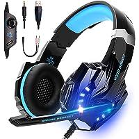 LonEasy Auriculares para Juegos, Auriculares para Juegos con Aislamiento de Ruido con Cable de,Control del Volumen…