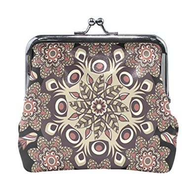 Coin Purse Kaleidoscope Mandala Wallet Buckle Clutch Handbag For Women Girl  Gift 996ff4d86f