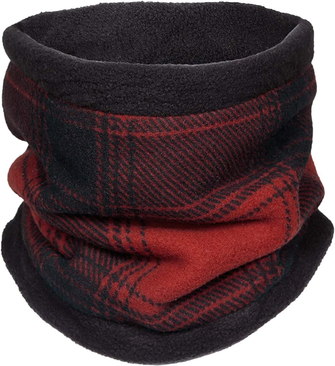 Fleece Winter Accessory Plaid Stormy Kromer The SK Neck Warmer Warm Cold Weather Gear