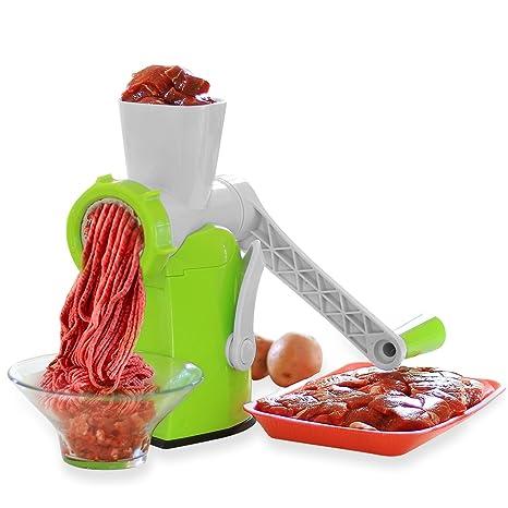 Amazon.com: Zalik 4 en 1 molinillo y exprimidor de carne ...