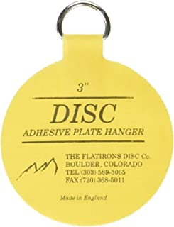 Invisible English Disc Adhesive Medium Plate Hanger Set (4-3 Inch Hangers)  sc 1 st  Amazon.com & Flatirons Disc Adhesive Large Plate Hanger Set (4-4 Inch Hangers ...