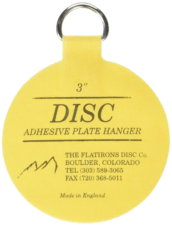 Invisible English Disc Adhesive Medium Plate Hanger Set (4 - 3 ...
