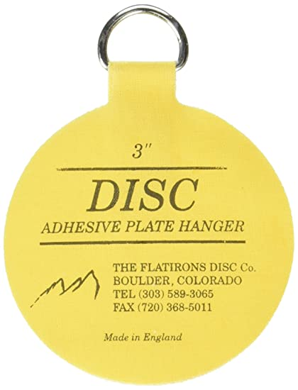 Invisible English Disc Adhesive Medium Plate Hanger Set (4-3 Inch ...