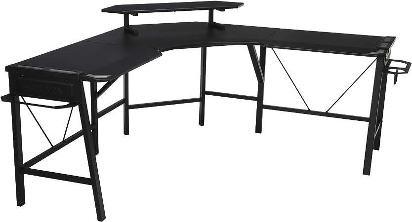 Respawn RSP-2010-GRN RSP-2010 Gaming L-Desk Verde (Encerado ...