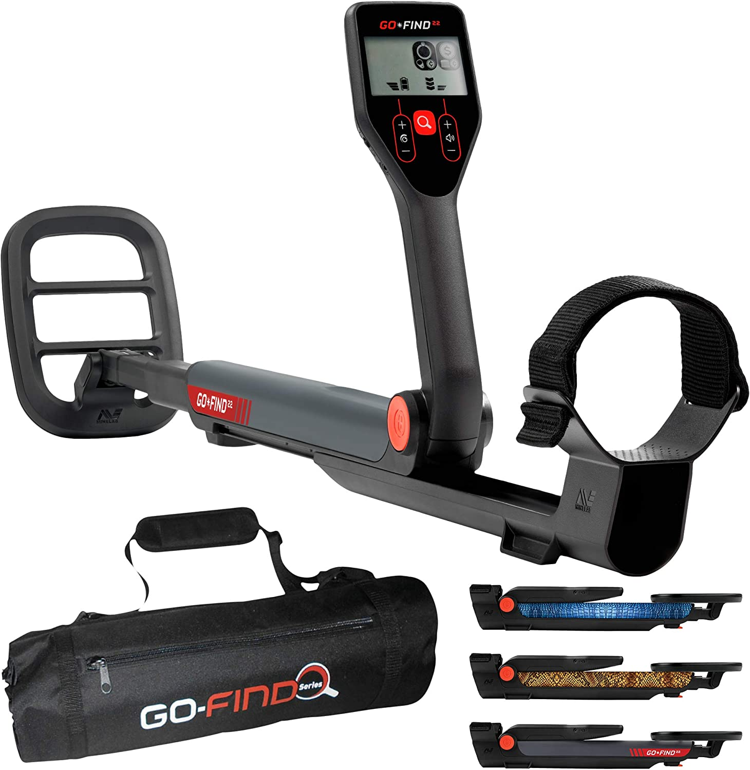 Amazon.com : Minelab GO-FIND 22 Metal Detector with GO-FIND ...