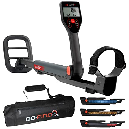 Amazon.com : Minelab GO-FIND 22 Metal Detector with GO-FIND Black Carry Bag for Transport : Garden & Outdoor