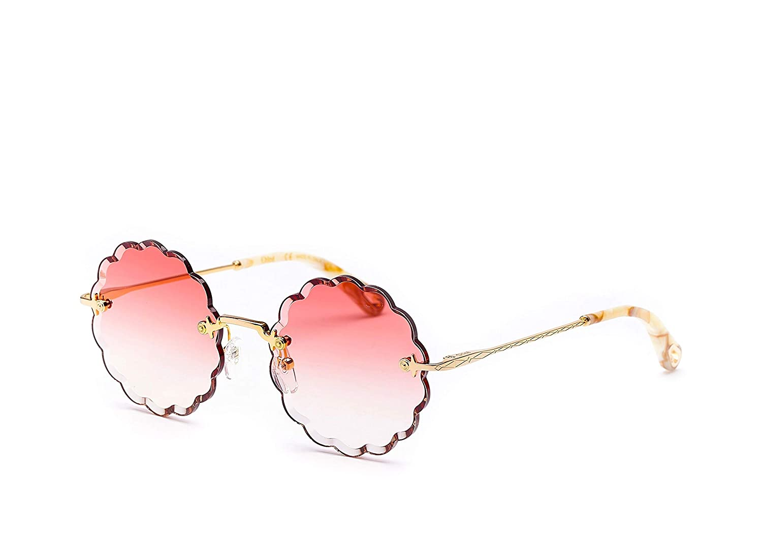 Gafas de Sol Chloé ROSIE CE142S GOLD/CORAL SHADED mujer ...