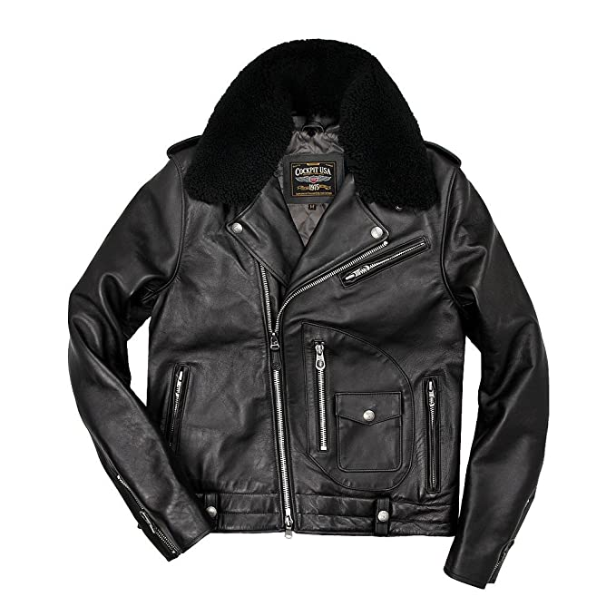COCKPIT USA - Chaqueta - Blusa - para Hombre Negro X-Small ...