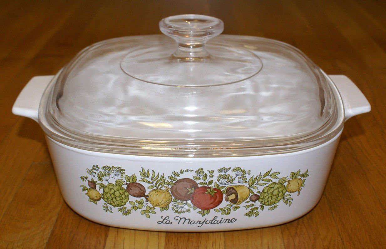 Vintage Corning Ware Spice of Life 2 Quart A-2-b