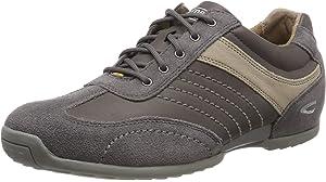 camel active Men's Space 24 Low Top Sneakers, Brown (Peat 30