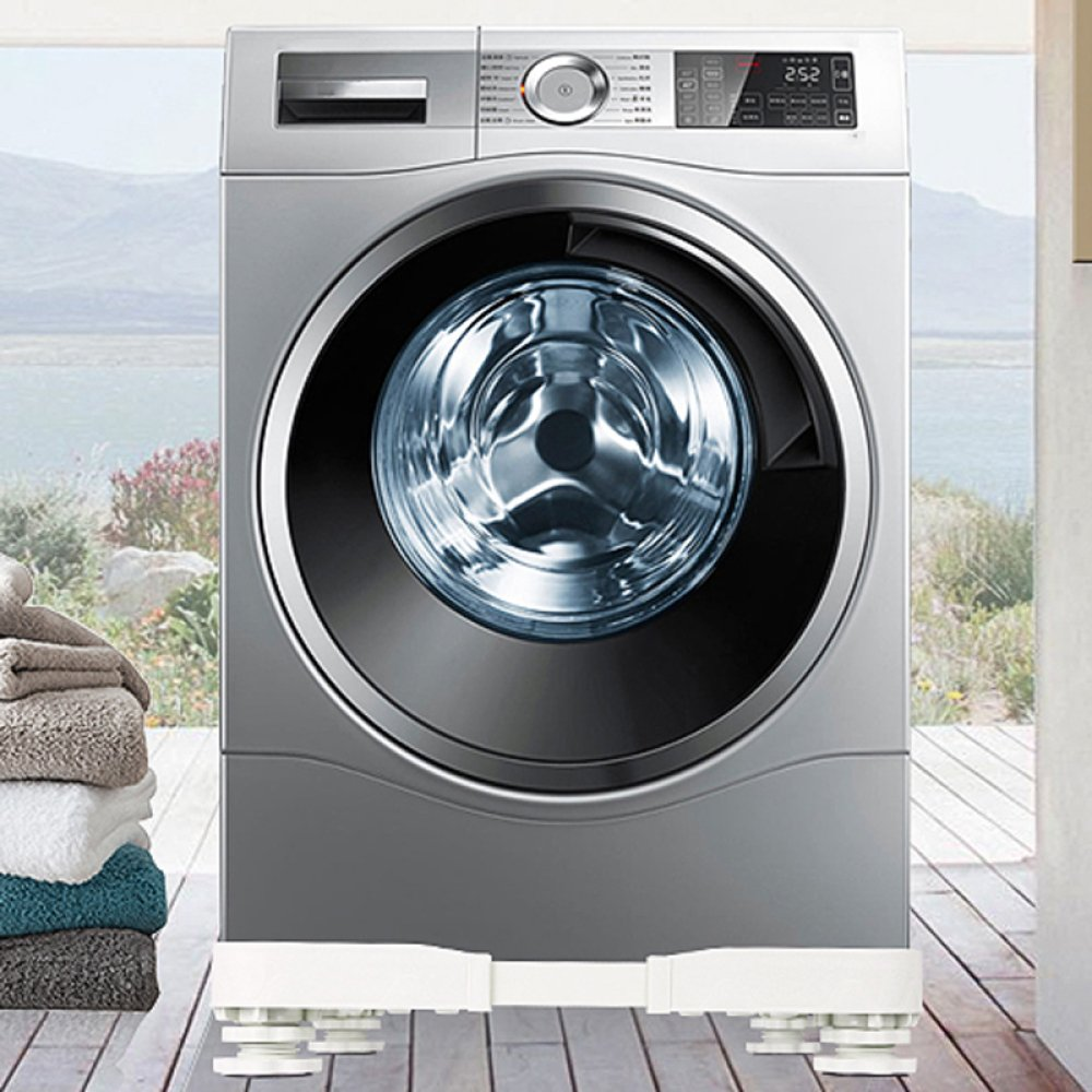 Base ajustable multifuncional para lavadora de pedestal para ...