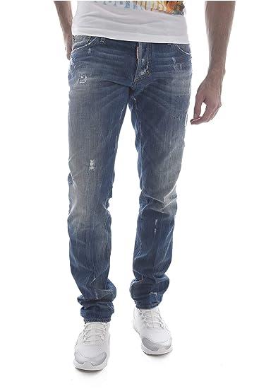 49b635ac58 DSquared2 Slim Jean S74LA0918 S30309 470 Jeans Dsquared D2  Amazon.co.uk   Clothing