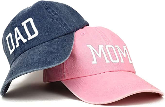 Trendy Apparel Shop Capital Mom and Dad Pigment Dyed Couple