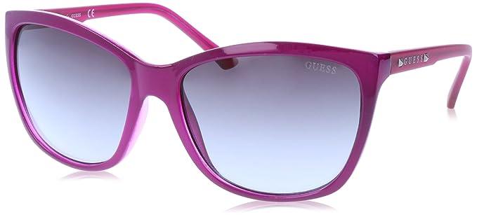 GUEX5 Sonnenbrille GU7308 6081B, Gafas de Sol para Mujer, Morado (Violett),