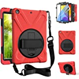 ZenRich New iPad 8th Generation Case 2020 iPad 7th Generation 10.2 Case with Stand/Screen Protector/Hand Strap zenrich…