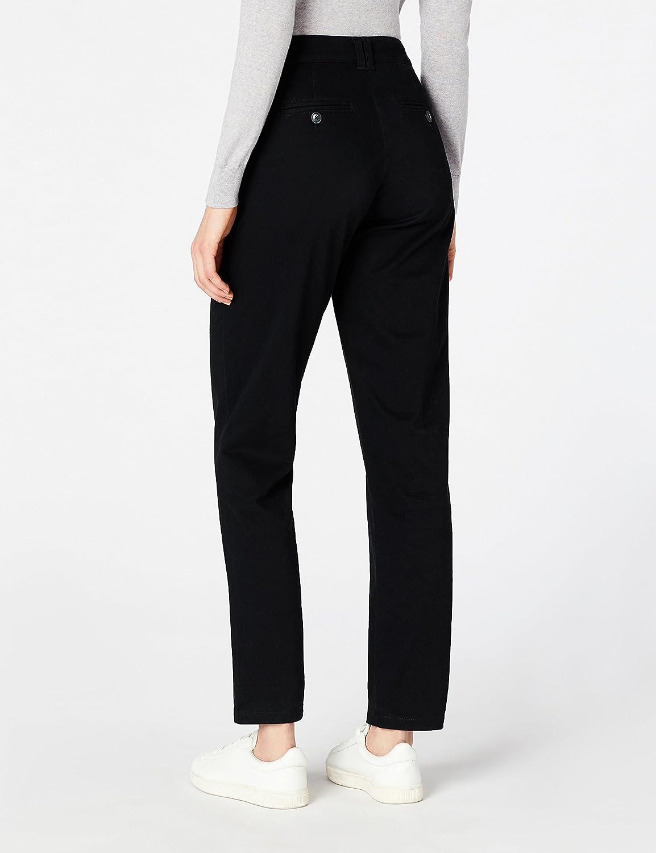 MERAKI Pantalone Slim Fit con Pinces Donna Marchio