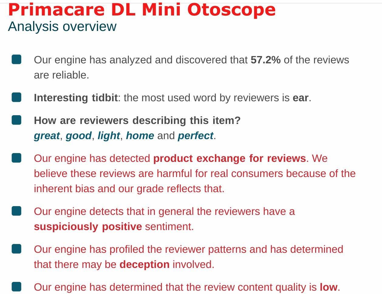 Original Doctor Mom Otoscope, otoscopes - CLAMSHELL kit
