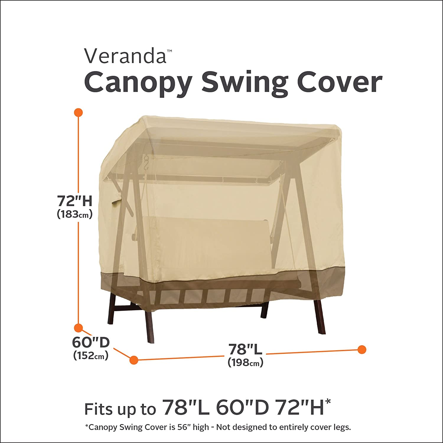 Amazon Classic Accessories Veranda 2 Seater Patio Canopy