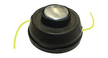 Bricoferr BF108B Cabezal desbrozador universal semiautomático (2 hilos, sistema smart easy charge pro)
